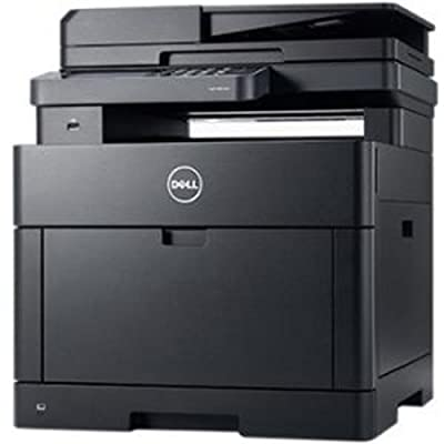 H825CDW 30 ppm 600 x 600 dpi Automatic Color Laser Multifunction Printer by Dell Computers