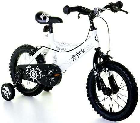 Huffy Bicicleta BMX Pirate de 14 Pulgadas para niños, Color Blanco ...