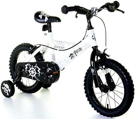 Huffy Bicicleta BMX Pirate de 14 Pulgadas para niños, Color Blanco ...