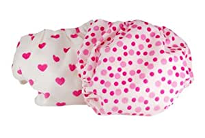 Pam Grace Creations 2 Piece Cloth Diaper,  Hearts