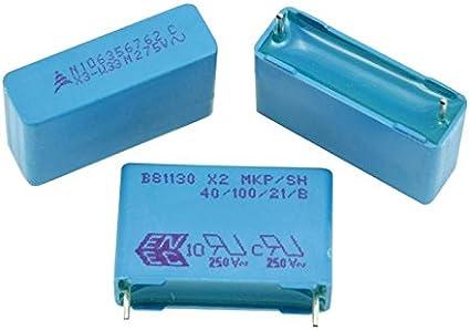 8PCS 10nF MKP 275VAC 400VDC  R46 X2 Arcotronics