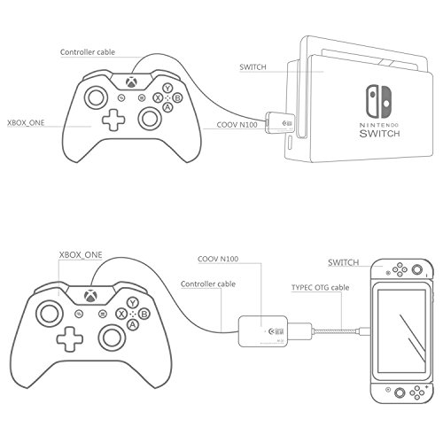 Fyoung Controller Converter For Nintendo Switch Support