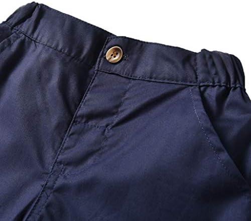 Uniforme Shorts V/êtement Outfit Moneycom Enfants Col de Couleur Unie Chemise Shorts Costume de Sport Gentleman Wear Toddler B/éb/é Gar/çon Gentleman Polo Arc en Ciel Col T-Shirt