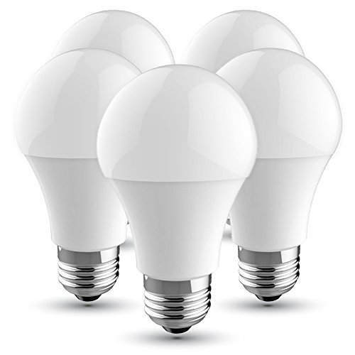 V-TAC Bombilla LED E27, 10 W equivalente a 60 W, 806 lúmenes, Color: Blanca Fria 6400K, 200° - 5 unidades: Amazon.es: Iluminación