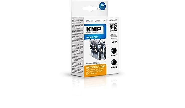 KMP LC123BK Negro cartucho de tinta - Cartucho de tinta para ...