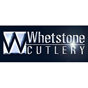 Whetstone Cutlery Survival Knife with Survival Gear, Silver