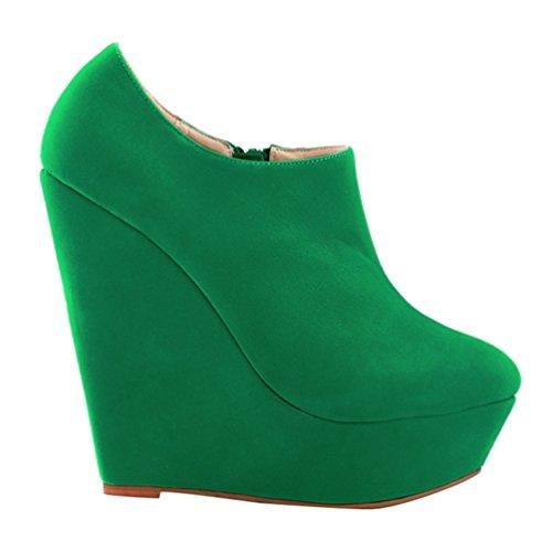 Plataforma Las De Zapatos Bombas Mujer o Botines Oto WanYang Botas Invierno Tac qOUfwR