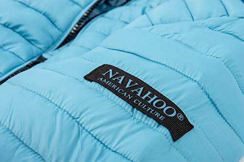 Blouson Bleu Uni Femme Layette Navahoo 1xPqUwdBd