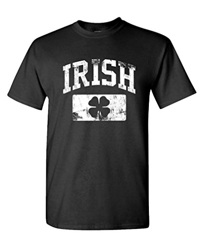 Distressed IRISH paddys day shamrock