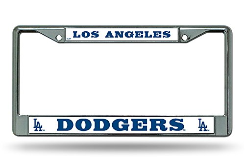 Rico Industries MLB Los Angeles Dodgers License Plate Frame, One Size, Team Color