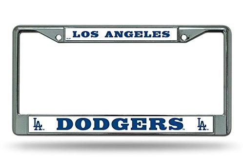 Dodger Frame (Los Angeles Dodgers MLB Chrome License Plate Frame)