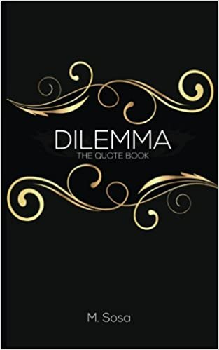 Quote Book Impressive Buy Dilemma The Quote Book Book Online At Low Prices In India