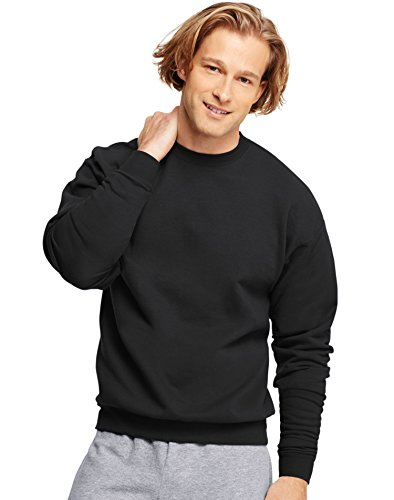 Hanes Crew Neck (Hanes 7.8 oz COMFORTBLEND EcoSmart Fleece Crew, Medium,)