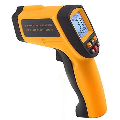 Digital Infrared IR Laser Thermometer 50 to 900 Degree C or -58 to 1652 Degree F