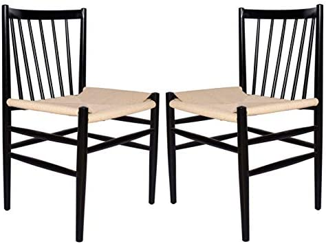 Amazon Brand Stone Beam Spindle-Back Dining Chair