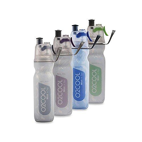 O2cool Artic Squeeze Bottle Colors