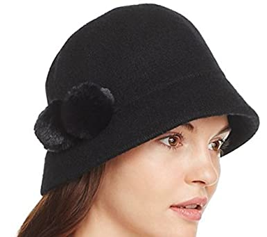8eb4de2576f Image Unavailable. Image not available for. Color  August Hats Melton Pom  ...