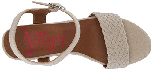 Jellypop Women's Mozart Wedge Sandal, Parent Natural