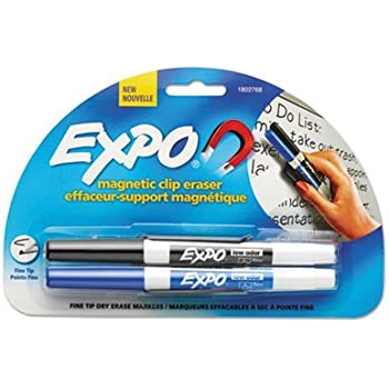 Amazon.com : EXPO 81503 Magnetic Clip Eraser w/3 Markers