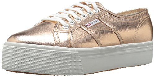 Superga Women's 2790 Cotmetu Fashion Sneaker, Rose Gold, 39 EU/8 M US