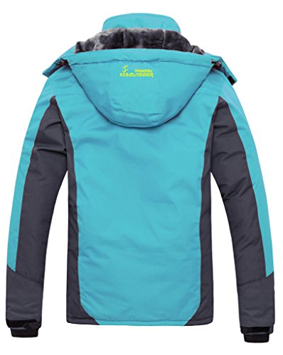 Wantdo-Womens-Mountain-Waterproof-Fleece-Ski-Jacket-Windproof-Rain-Jacket