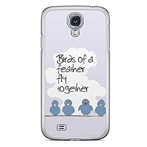 Birds of a Feather Samsung Galaxy S4 Transparent Edge Case
