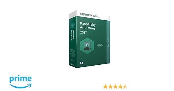 Kaspersky Antivirus 2017 - Software De Seguridad, 1 Usuario: Amazon.es: Software