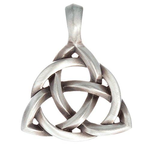 Bico Australia Triquetra Celtic Trinity Knot Mens Pendant ()