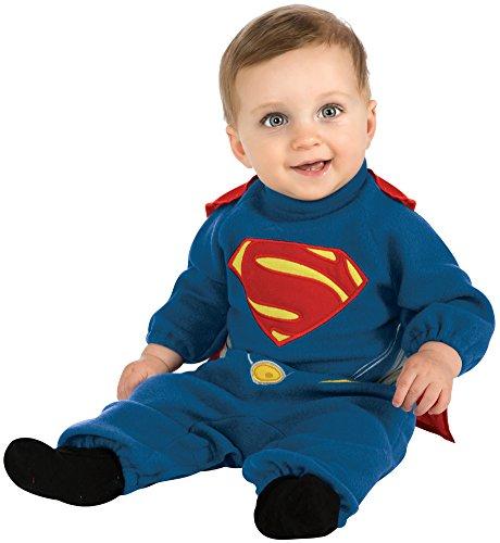 Rubie's Costume Man Of Steel Superman Romper, Blue/Red,