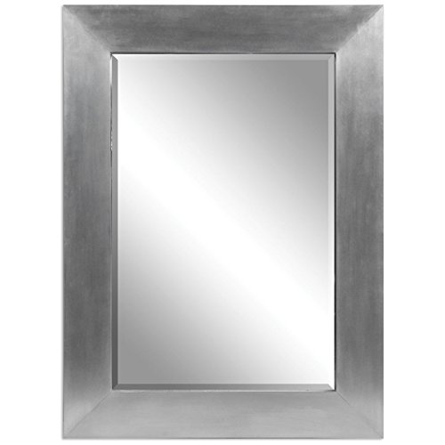 Grace Feyock Collection (Uttermost 07060 Martel Contemporary Mirror, Silver)