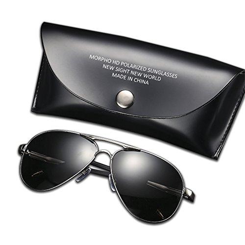 Polarized Mens Sunglasses for Sports Fishing Sunglasses Driver Aviator Men UV400 HD