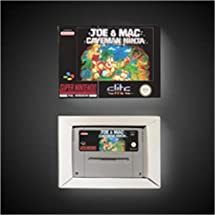 Amazon.com: Game Card Joe & Maced - Caveman Ninja - EUR ...