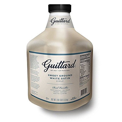 Guittard White Chocolate Sauce 125oz
