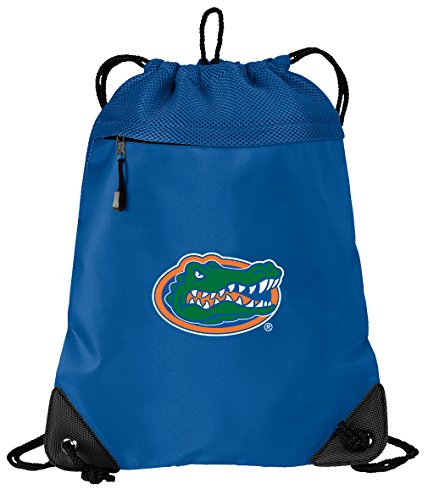 Broad Bay Official University of Florida Drawstring Backpack Florida Gators Cinch Bag - Cool MESH & Microfiber