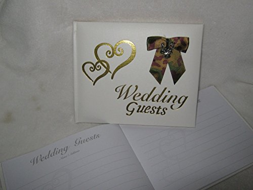 Redneck Hunters - Wedding ceremony party camo redneck Deer Hunter Hunting guest book