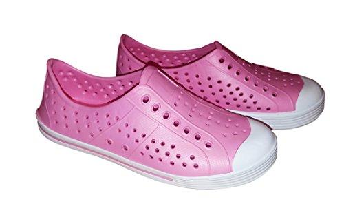 101 Strand Kvinna Vatten Sneakers Halka På Täppa Rosa