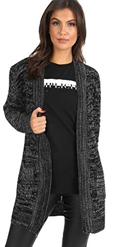 Cardigan Donna Fashions amp;Ayat Momo Charcoal vAqFZSwCx