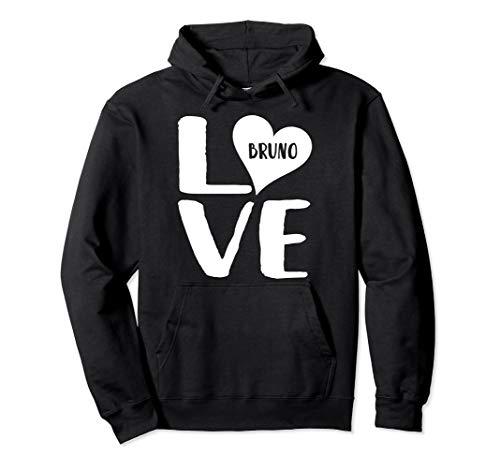 Love Heart Bruno Pullover Hoodie Magic Lover -