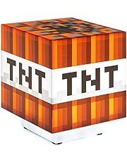 Paladone Minecraft: Tnt Light With Sound (Lampada) Merchandising Ufficiale