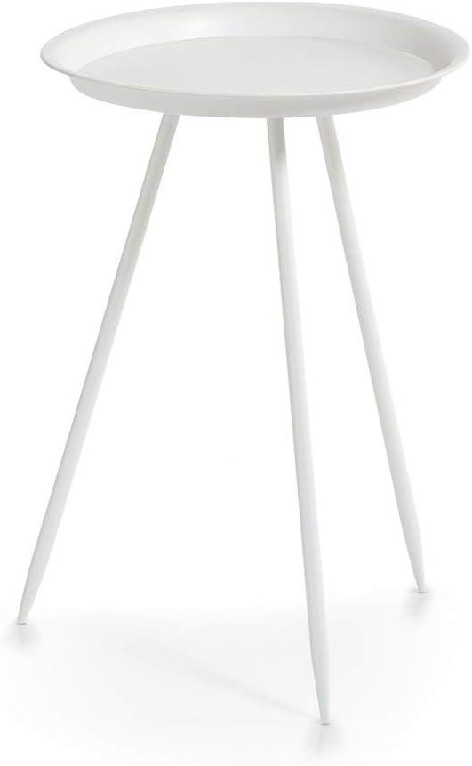 Metal 39 x 39 x 53.5 cm Zeller Caja de almacenaje Blanco