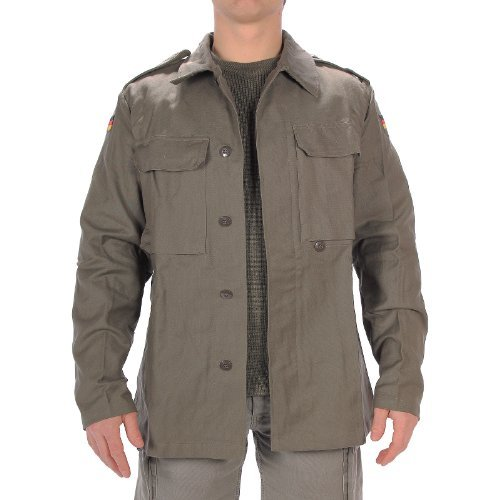 Mil-Tec BW Moleskin Jacket Olive size M Reg (7) ()