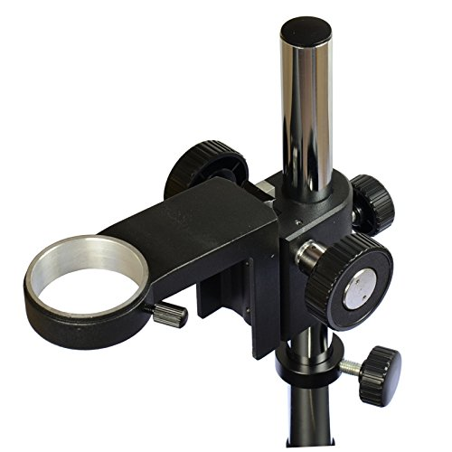 Big Heavy Duty Metal Boom Stereo Microscope Camera Table Stand Holder 50mm Ring by hayear (Image #1)