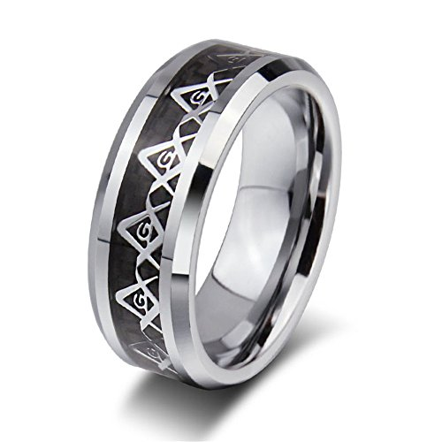 Rongxing Jewelry Band Titanium Steel Rings Size 10 Silver Women's Engagement Gift