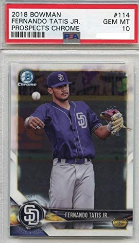 2018 Bowman Chrome Fernando Tatis Jr Padres