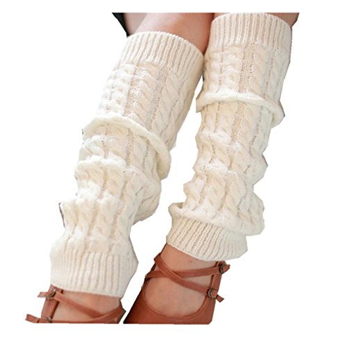 Warmers Haoricu Fashion Knitted Crochet