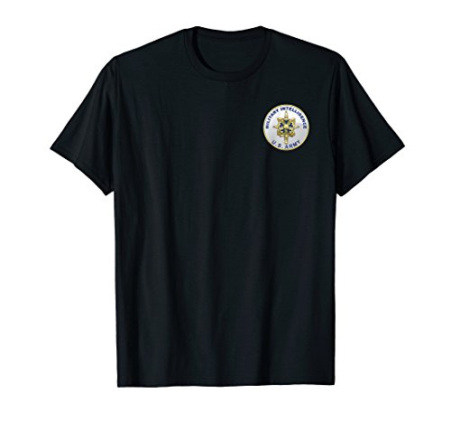 US Army Military Intelligence Branch Veteran Morale T-Shirt