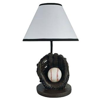 ORE International 31604BB 15H Baseball Table Lamp
