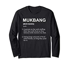 "By wearing our ""Funny Mukbang Definition"" design it will tell everyone that you understand how to Mukbang. Copyright Keyomiyo 2018."
