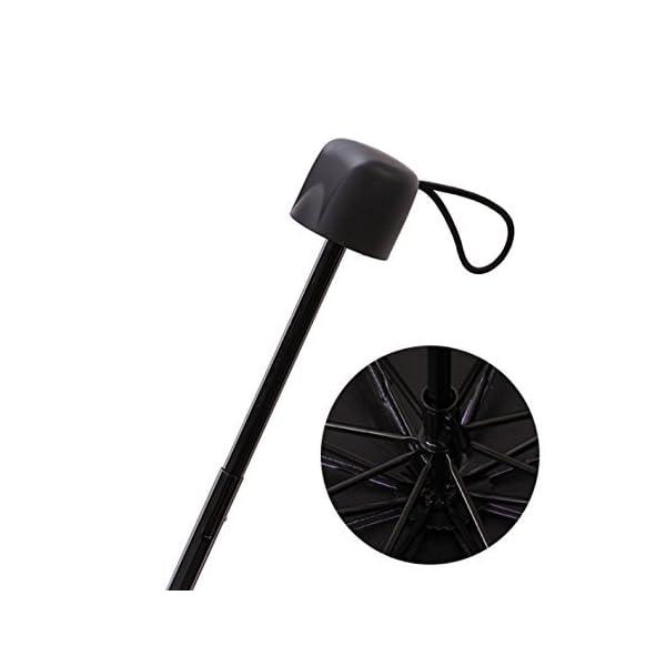 Shuda-Mini Donna Piccolo Ombrellone Moda Pieghevole Parasole,Ombrello per Protezione Solare UV Antipioggia, 25 * 4cm 2 spesavip