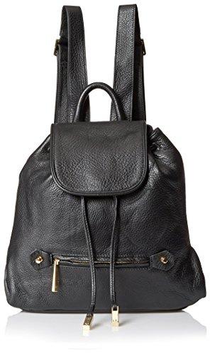 Halston Heritage Women's Solid Back pack, Black - Black -...